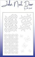 John Next Door A5 Mask Stencil - Flourishes JNDM0007