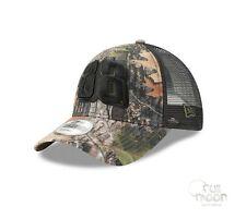 New Nascar Dale Earnhardt Jr. Camo Mesh 9FORTY Era Trucker Snapback Cap Hat