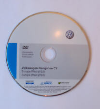 VW Volkswagen SKODA RNS 510 V10 SAT NAV West Europa Map Disc DVD Navigation 2014