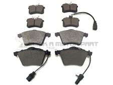 FORD GALAXY 1.9 TDi 2001-2006 FRONT & REAR BRAKE PADS & SENSORS (CHECK SIZE)