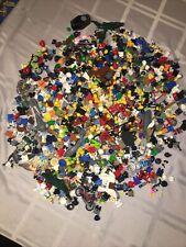 LEGO 2.4 POUND LOT OF BULK MINIFIGURE PARTS ACCESSORIES