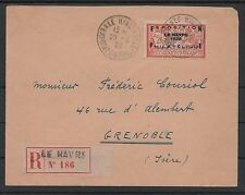 "FRANCE STAMP TIMBRE 257 A "" MERSON EXPOSITION HAVRE 1929"" OBLITERE TB VOIR  N813"