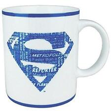 Superman Mug with Blue and White Logo