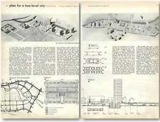 1960 Plan For A Two-level City Central Area Of Berlin
