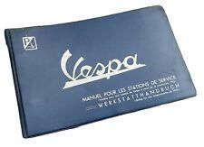 Vespa manuel depuis 1955  station-service Vespa Acma Piaggio Faro Basso