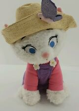 Disney Store Aristocats Marie White Cat Plush With Hat