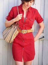""""""" 3 suisses Collection"""", señora-blusas -/cargo vestido, rojo, talla 32, algodón"""