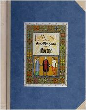 Johann Holtz: Goethe. Faust (1929) 1 von 400 Exemplaren