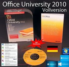 MS Office Professional University 2010 Vollversion Box f. Studenten/Lehrende NEU