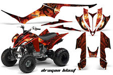 ATV Decal Graphic Kit Quad Sticker Wrap For Yamaha Raptor 350 2004-2014 DRGBLAST