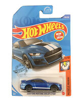 Hot Wheels 2020 HW Muscle Mania Blue 2020 Ford Mustang Shelby GT500