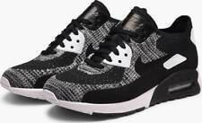 NEW Nike Air Max 90 Ultra 2.0 Flyknit Women's Shoes Black White 881109 002 -SZ 8