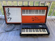 Vintage Wurlitzer Piano Keyboard Mlm 101V Organ And Keynote Visualizer