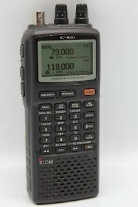 ICOM IC-R20 Handheld Communications Radio Receiver Scanner HF VHF UHF