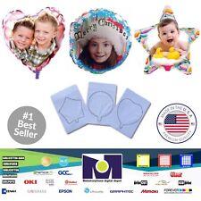 "Ball Shape InkJet Printable Personalized Ballons A4 (8.27""x11.69"") 1 Sheet"