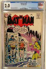 **BATMAN #121 CGC 2.0**(FEB 1959, DC)**1ST APP OF MISTER FREEZE**SILVER AGE KEY!