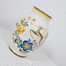 alte Vase Tischvase Blumenvase VEB Dresden Steingutfabrik Villeroy & Boch 60er J