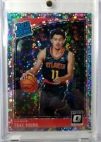 2018-19 Panini Optic Rated Rookie Fast Break Prizm Trae Young RC #198, Refractor