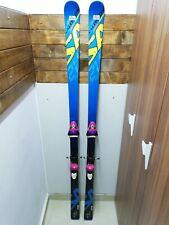Salomon 2V GS 183 cm Ski + BRAND NEW! Tyrolia QZ 14 Bindings