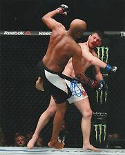 MICHAEL BISPING SIGNED AUTO'D 8X10 PHOTO MMA UFC CHAMPION VS ANDERSON SILVA D