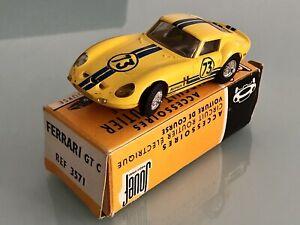 Jouet Ancien voiture de circuit Slot Jouef Ferrari 250 GT C Ref 3571