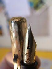 Vintage Restored Conklin Gold-Filled Slight-Flex Fountain Pen