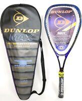 "NEW Dunlop MAX Enforcer Extra Long Tennis Racquet WITH CASE  4 1/2"" Grip READ"