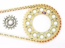 Renthal Sprockets 15/45 520 Kit EK SRX2 Chain 2011 2012 2013 2014 2015 GSXR 600