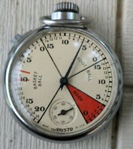Aristo #33 Vintage USA All Sports Timer Working Stopwatch From The 1930's Works