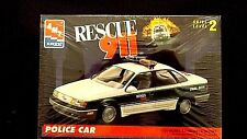 Model Kit Rescue 911 Ford Police Car AMT 1:25