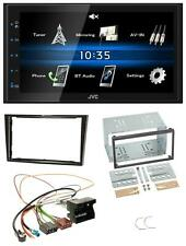 JVC 2din Bluetooth mp3 USB AUX AUTORADIO PER OPEL ASTRA H CORSA D ZAFIRA B corda con