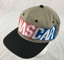 NASCAR Racing Big Logo Snapback Cap Hat Vtg