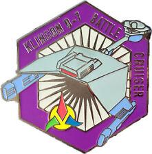 L'Impero Klingon Battle Cruiser-Esclusivo Collezionisti COLLECTORS PIN METALLO-STAR TREK