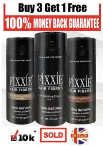 FIXXIE® Hair Building Fibres 27.5g 🔥 BUY 3 GET 1 FREE 🔥 SATISFACTION GAURANTEE