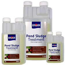 Bermuda Pond Sludge Treatment Removes Silt Debris Dead Algae 250/500/1000ml