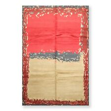 6' x 9' Hand Knotted Wool & Silk Tibetan Oriental Area Rug Traditional 6 x 9 ft