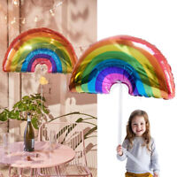 Large Inflatable Rainbow Foil Helium Air Balloon Birthday Wedding Unicorn Party