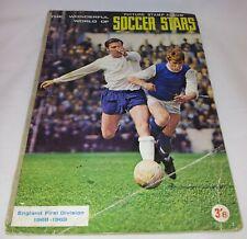 FKS Soccer Stars : Season 1968-69 Sticker Album  : 100% Complete : Very Rare