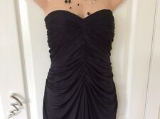 Monsoon black bandeau cocktail/party dress size 10/12 Hols 19/7 To 26/7