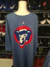 Majestic Chicagp Cubs 3XLT NWT Blue Short Sleeve Tee
