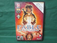 Fable: The Lost Chapters (PC, 2005) *SEE DETAILS*
