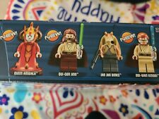 LEGO STAR WARS QUEEN AMIDALA MINIFIGURE LOT X 4 NEW FROM RETIRED GUNGAN SET 9499
