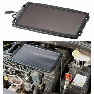 Solar Kfz: Solar-Ladegerät für Auto-Batterien, 12 Volt, 2,4 Watt