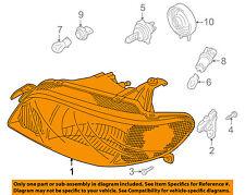 MAZDA OEM 01-03 Protege-Headlight Head Light Headlamp BL8E510K0D