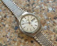 Vintage Seiko Quartz JDM 3803 7020 November 1972 36.5 mm KANJI