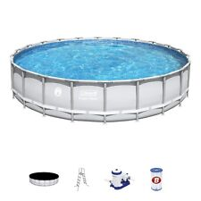 """New listing Coleman Steel Frame 90331 22' x 52"""" Above Ground Swimming Pool"""