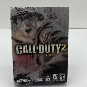 Call of Duty 2: Collector's Edition (PC, 2005) DVD-ROM Game 2 Discs & Manual