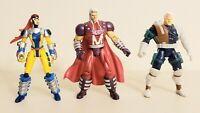 90s Marvel Toy Biz (Lot Of 3) X-MEN Action Figures Jean Grey, Magneto, Cable
