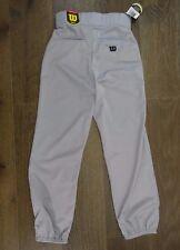 Wilson Baseball Pants Mens S Poly Grey