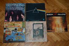 Deep Purple Led Zeppelin Queen Pink Floyd - Dark side of the moon Yugoslav lot